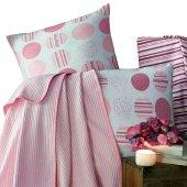 Evim Home Pink Hope Tek Kişilik Lüx Kutulu Pike...