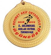 Madalya Kızlar Futbol Başarı Madalyası