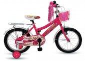 Arnica 1602 16 Cant Bagajlı Bisiklet Pembe
