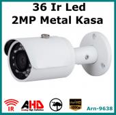 2 Mp Full Hd 1080p 36 Led Metal Kasa Güvenlik Kamerası Arna9638