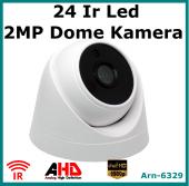 Full Hd Ahd Dome Güvenlik Kamerası 24 Led 2 Mp Arn6329