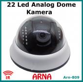 Analog Dome Kamera Gece Görüşlü