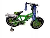 Arnica 1605 16 Cant Kapaklı Bagajlı Bisiklet Yeşil