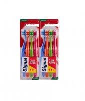 Signal Clean Actıon 3+1 Diş Fırçası*2 Adet