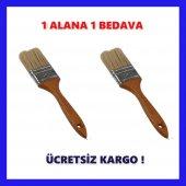 Kestirme Fırçası No.2 Ahşap Saplı Profesyonel 2 Ad...