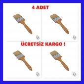2,5 No Kestirme Fırçası Ahşap Saplı Profesyonel 4 ...