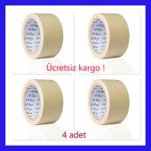 Kağıt Bant Filli Boya Maskeleme Bandı 50 Mm 4 Adet...