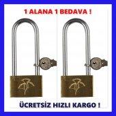 Uzun Asma Kilit Pirinç 40 Mm Buzdolabı Kilidi 2...