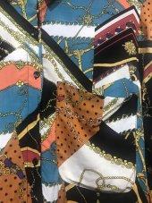 Pamuklu Vintage Desenli Gömlek XSG3128-5