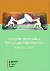 Advanced Experimental Unsaturated Soil Mechanics Experus 2005