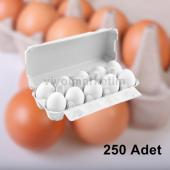 10'lu Kapaklı Yumurta Viyolü (250 Adet)