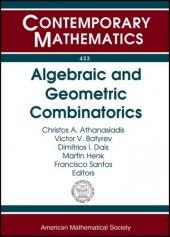 Contemporary Mathematics Algebraic And Geometric Combinatorics