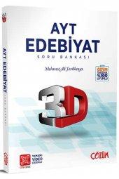 çözüm Yayınları Ayt Edebiyat 3d Soru Bankası