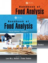 Handbook Of Food Analysis, Third Edition Two Volume Set