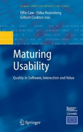 Maturing Usability Quality In Software Interaction And Value