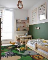 120x180 Printed Polyester Çocuk Halısı