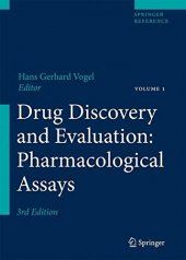 Drug Discovery And Evaluation Pharmacological Assays (2 Volumes)
