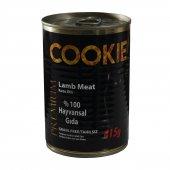 Cookie 12li Kuzu Etli Konserve Yaş Kedi Maması 415 Gr