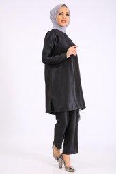 PUANE Kadın Siyah Abiye Takım-5