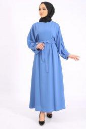 LOREEN Kadın İndigo Elbise