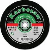 KALİTE Karbosan 115 mm Mermer - Beton - Kiremit Kesici Disk Taş-2