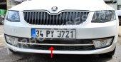 Skoda Octavia A7 Krom Ön Tampon Çıtası 1 Parça (2013 2017)