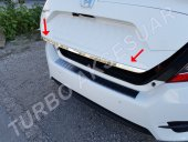 Honda Civic Fc5 Krom Bagaj Alt Çıtası (2016 Ve Üzeri)