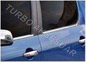 Peugeot 307 Krom Cam Çıtası 4 Parça (2001 2008)