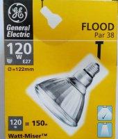 Ampul, 120 W, Flood Par 38, General Electric