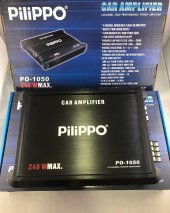 Pilippo Po 1050 240 Watts 4 Kanal Amfi