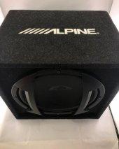 Alpine Sbe-1244Br 650 Watt 30 cm Profesyonel Subwoofer-3