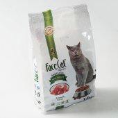 Face Cat Organik Tam Dengeli Kırmızı Etli Kuru Kedi Maması 1.5 Kg
