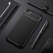 Iphone 7 Kılıf Negro Silikon Kapak Karbon...