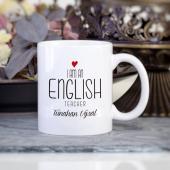 Kişiye Özel İngilizce Öğretmeni Kupa Bardak