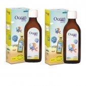 Ocean Limon Aromalı Balık Yağı Şurubu 2' Li Sk...