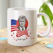 Donald Trump Beyaz Kupa Bardak 1