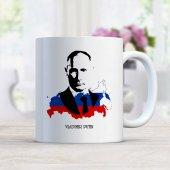 Vladimir Putin Beyaz Kupa Bardak 2