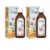 Ocean Portakal Aromalı Balık Yağı Şurubu 2' Li...