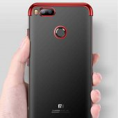 Xiaomi Mi 5x Kapak Kılıf Dört Köşeli Lazer...