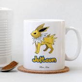 Pokemon Jolteon Beyaz Kupa Bardak