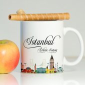 Istanbul Beyaz Kupa Bardak 003