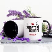 Lacivert Renkli Anestezi Uzmanı Kupa Bardak-2