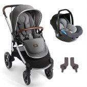 Mamas Papas Ocarro Travel Sistem Bebek Arabası Grey Twill