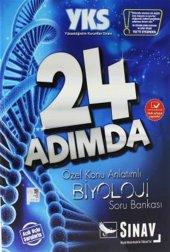 Sınav Yks 24 Adımda Biyoloji Konu Anlatımlı Soru Bankası