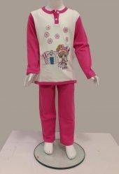 Little Bee 2005 Köpekli Kız İnterlok Pijama...