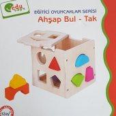 Edu Toys Ahşap Bul Tak Oyun Eğitici Geliştirici Oyuncak -2