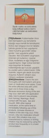 DERMADERM BİTKİSEL SİVİLCE KREMİ 100 ML-2