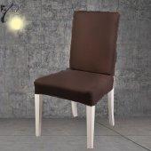 Ezra Sandalye Kılıfı Likralı su tutmaz sandalye kılıfı 6 adet-15