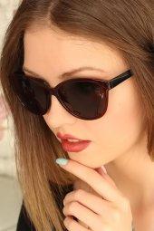 Bordo Çerçeveli Clariss Marka Bayan Güneş Gözlüğü