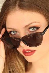Füme Renk Çerçeveli Clariss Marka Bayan Güneş Gözlüğü-2